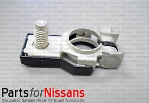 Genuine Nissan 1998 2016 Positive Battery Terminal End New Oem