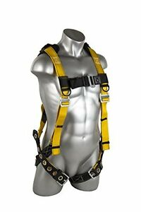 Guardian Fall Protection Seraph Safety Harness With Leg Tongue Buckles xlarge bl