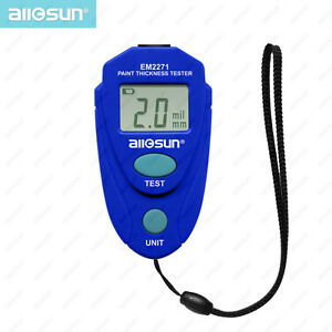 Gauge Coating Meter Car Thickness Meter Digital Thickness Width Measuring Tool