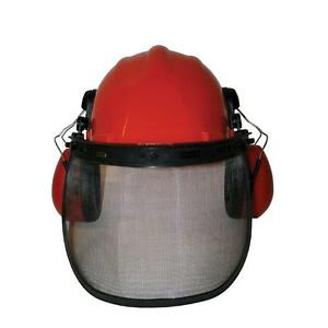 Protective Safety Hard Hat Helmet With Eye Ear Face Guard Protection