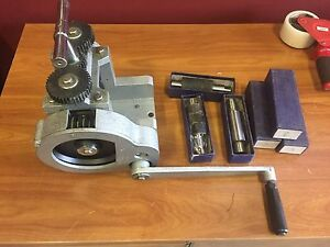 New Jewelers Combination Rolling Mill 3 Wide And Extra Rollers Gold Smith