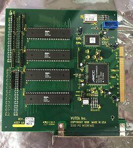 Vutek Qs2000 Pci Interface Card 5300