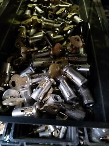 Qty 10 New Chicagolock Made In Usa Best Made Lock Key Gumball Machine 6 25ea