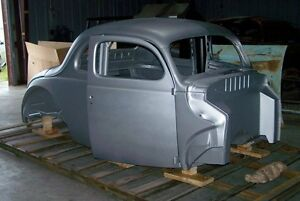 1940 Ford Steel Body Coupe With Recessed Firewall Doors Deck Lid
