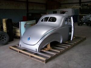 1940 Ford Steel Body Replacement With Stock Firewall Doors Deck Lid