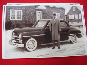 1950 Plymouth Special Deluxe 2dr 11 X 17 Photo Picture