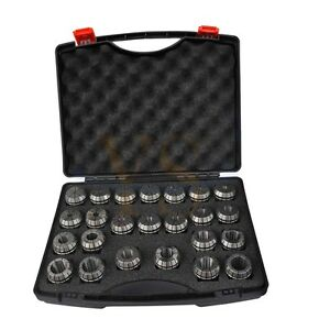 New Precision 24pcs 4 26mm Er40 Collet Set For Cnc Toolholder Package Set