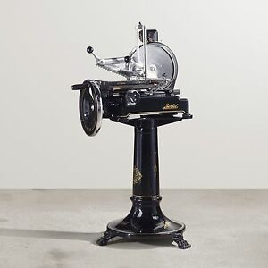 Berkel Flywheel Hand Crank Prosciutto Slicer Model 9 Fully Restored