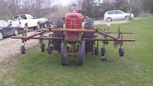 4 Row Cultivator Front Mounted