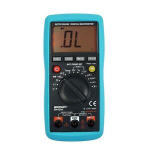 Digital Multimeter Continuity Diode Transistor Battery Tester Temp Measuring