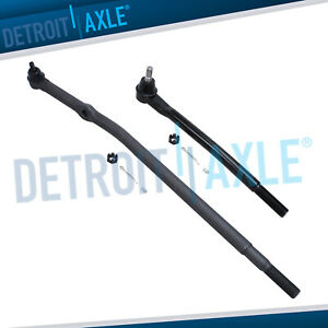 New Set Of 2 Front Inner Tie Rod Ends For Ford Excursion F 250 F 350 2wd