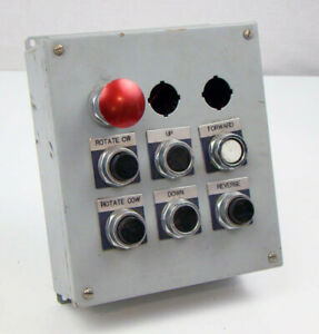 Control Panel With Furnas Push Button Switch 52pa8b1