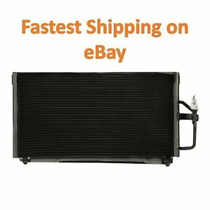 New Condenser For Mitsubishi Galant 1999 2003 2 4 L4 3 0 V6 Lifetime Warranty