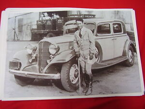 1933 Buick Club Sedan Clyde Beatty 11 X 17 Photo Picture
