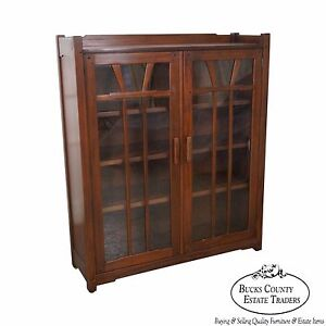 Stickley Antiquities Pasadena Collection Gamble House Arts Crafts Bookcase