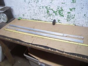 1963 Ford Galaxie Left Right Upper Door Molding Trim Moulding 63 F
