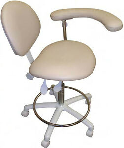 Galaxy Ergonomic Dental Assistant Stool