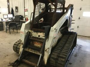 Bobcat T320 Track Steer Lift Arm Only Some Fire heat Exposure P n 7115857
