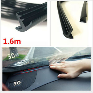 Rubber 1 6m Soundproof Dustproof Sealing Strip For Auto Car Dashboard Windshield