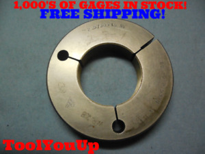 2 5730 16 Ns Thread Ring Gage Go Only P d 2 5324 Precision Tooling Quality