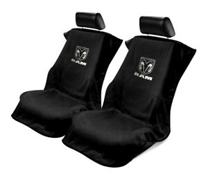 Seat Armour Universal Black Towel Front Seat Covers For New Dodge Ram pair