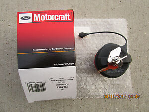 01 06 Ford Escape Fuel Gas Tank Filler Cap With Tether Locking Lock Key Oem New