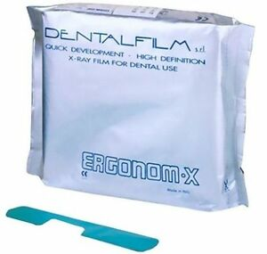X Ray Dental Films Ergonom Self Developing 2 Pack Of 50 Films