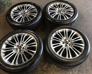 2016 2017 Lincoln Mkx 20 Ind Fa1z1007c Takeoff Set Rims Tires 10075