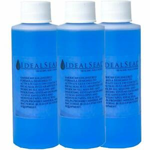 3 Pack Sealing Solution 4 Oz Bottles Concentrated 1 Gallon Of Water