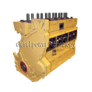 Caterpillar 3126b Remanufactured Diesel Engine Long Block
