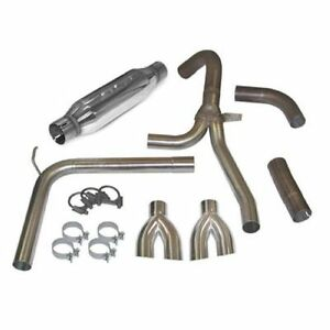 Slp Performance 31042 Loudmouth Exhaust System For 98 02 Camaro Firebird Ls1