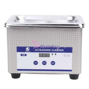 New 800ml Digital Dental Ultrasonic Parts Cleaner Industrial Cleaning Equipment