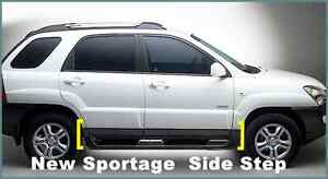 Left Right Lift Side Door Step For Kia New Sportage 2004 2007
