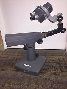 American Optical Co Model 570 Microscope With Heavy Base 07 To 4 2x Used
