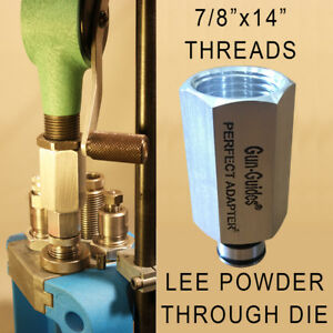 RCBS Hornady Lyman Powder Measure to Perfect Adapter™ for LEE Dies Gun Guides $15.99