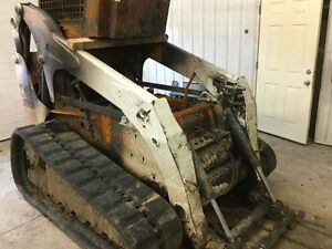 Bobcat T300 Track Steer Loader Lift Arm Only Fire heat Exposure P n 7115857