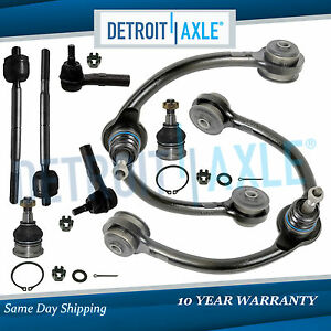 8pc Control Arms Kit 2005 2006 2007 2008 2009 2010 Jeep Grand Cherokee Commander
