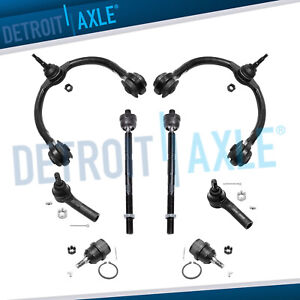 8pc Control Arms Kit For 2005 2006 2007 2008 2010 Jeep Grand Cherokee Commander