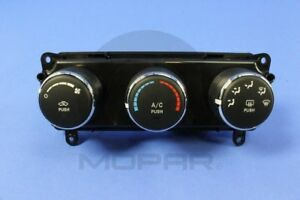 A C And Heater Control Switch Mopar 55111132ad