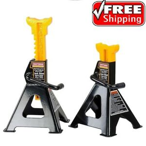 Craftsman Professional 4 Ton Jack Stands Set Car Auto Garage Shop Mechanic Pair