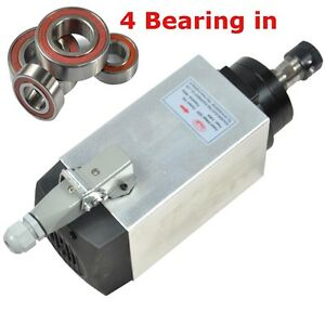 3kw Air cooled Spindle Motor Engraving Mill Grind Four Bearing