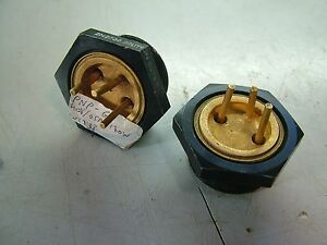 Lot Of 2 2n2738 Transistor Pnp Germanium High Power 40v 65a 170w