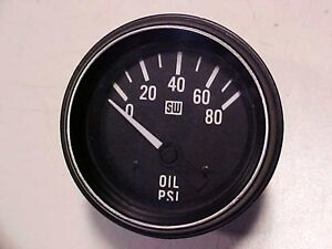 Lamborghini Oil Temperature Gauge Stewart Warner Oem