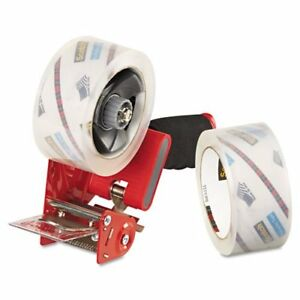 Packaging Tape Dispenser With 2 Rolls Of Tape 1 88 Inch X 54 6 Yards