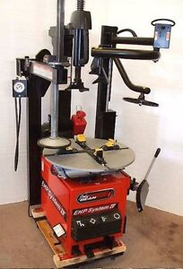 Remanufactured John Bean System Iv e Tire Changer With Pneumatic Assist