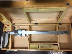 Fowler 18 Vernier Vertical Height Gage 52 174 018 Used