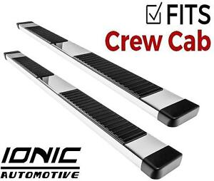 Ionic 51 Series Brite fits 2009 2013 Dodge Ram Crew Cab Running Boards Steps