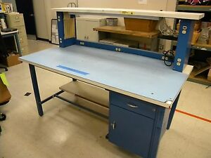 Industrial Work Bench See Photos For More Details