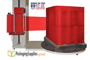 2 Rolls Tinted Red Machine Pallet Stretch Wrap Shrink Film 20 X 5000 X 80 Ga