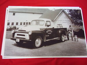 1955 International Harvester Pickup S110 11 X 17 Photo Picture